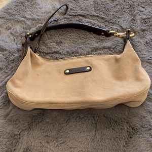 Cole Haan small suede bag